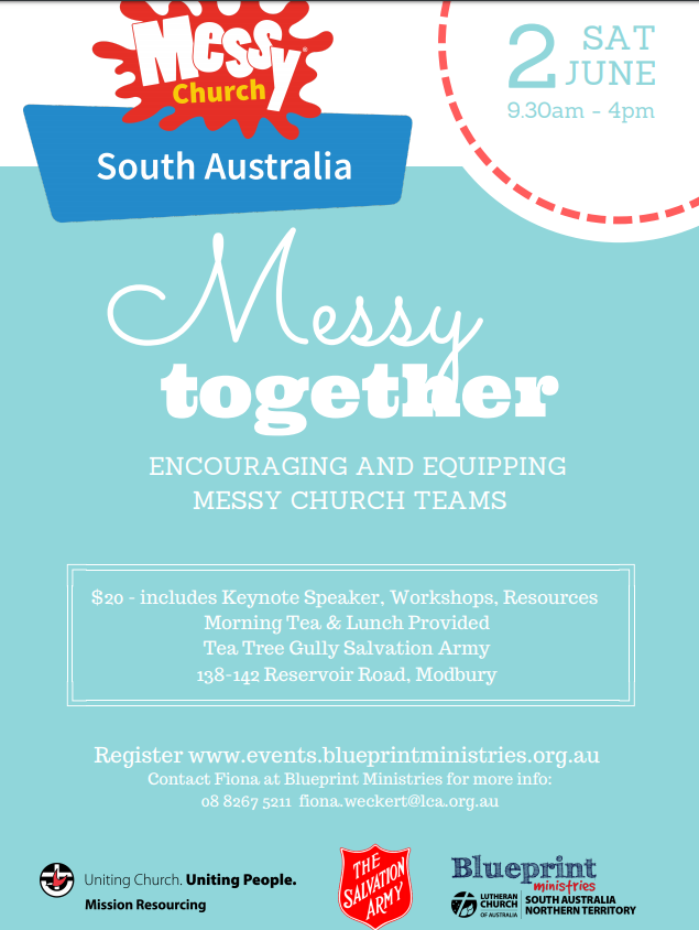 Adelaide messy church conference messy church australia capture malvernweather Choice Image